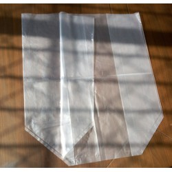 PE透明方底袋 内衬立体包装袋