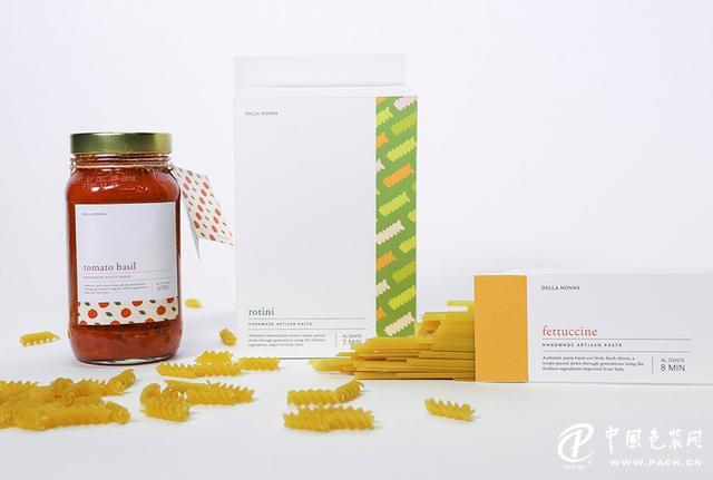 意大利品牌面食和面食酱包装设计