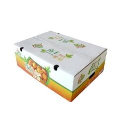 水果箱 彩箱  纸盒 3层高强坑彩盒 1000个起订
