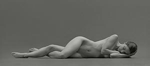 雕塑般简洁干净的人体摄影