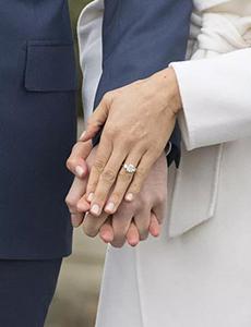 哈里王子未婚妻的订婚婚戒竟大有来头 钻石来自戴妃胸针