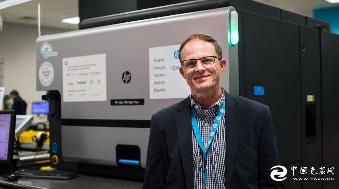 eAgile安装世界首台HPIndigo数码印刷机