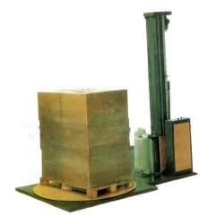 平洲食品饮料出货可用薄膜缠绕包装机添加保护层
